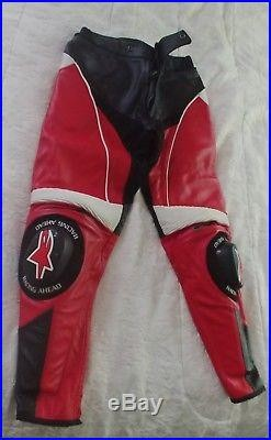 ALPINESTARS APEX LEATHER PANTS (MENS SIZE EUR 50 USA 34) New with tags