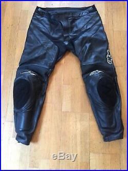 Alpinestars Apex Leather Trousers Pants Mens XXL Euro 58 USA 42