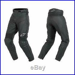 Alpinestars Bat Pants Men's Leather Motorcycle Motorbike Trousers Euro 58 Short