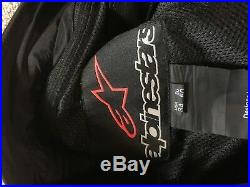 Alpinestars Mens Missile Leather Motorcycle Pants 34 US 50 EU