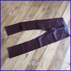 Balenciaga faux leather pants 34 men 50