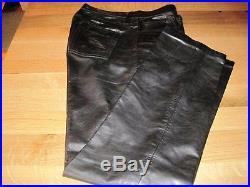 Banana Republic Black Leather Men