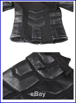 Batman Bruce Wayne Cosplay The Dark Knight Superhero Halloween Costume Leather