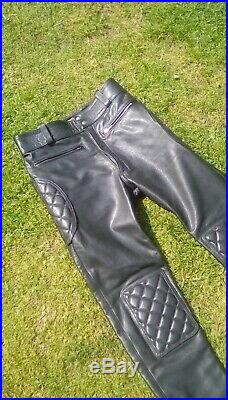 Black body Amsterdam Gay mens leather trousers Bluf