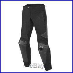Dainese Mig Vented Leather Textile Mens Trousers Pants Motorcycle Motorbike SALE