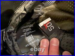 Dainese Motorcycle Leather Racing Pants Size 50 Euro Black NEW