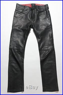 Diesel Leather Trousers Jeans P-Thavar-L Men
