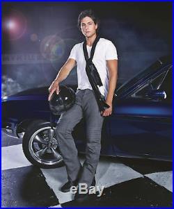 Gucci Tom Ford Era Motorcycle Biker Pants Mens 32 50 Leather Wool $10k RARE