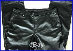 HUGO BOSS Black Luxury Lambskin Genuine Leather Men