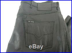 Harley Davidson Motorcycles Mens Leather Pants Sz 38