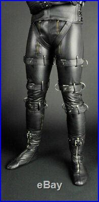 Hipster Jeans Skin Lederhose ECHTLeder Men Leather Skinny Pants Club Trouser