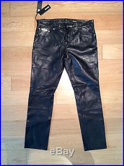 Just Cavalli 100% Leather Black Men