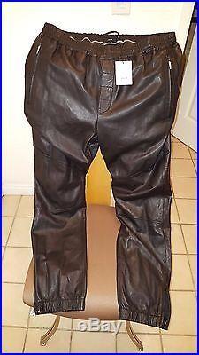 Leather Pants Vince LambSkin Leather Men