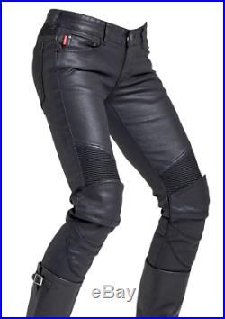 MEN'S Handmade Real Leather pants trousers lederhosen lederjeans Gay jeans Qua