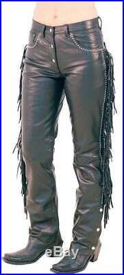 Men's Leather Jeans Antique Brown Leather Pants New Trousers Lederjeans Antik