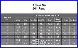 Men's Leather Pants Biker Trouser Black Bronze Jeans Style Cowhide Leather 501