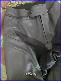 Mens Alpinestars GP Plus Leather Pants Size 30 Slight Wear (see photos)