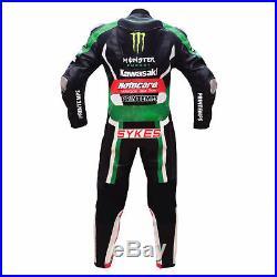Mens Racing Biker Leather Suit Motogp Motorbike/Motorcycle Leather Jacket Pant