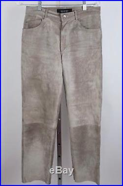 Mens Tom Ford for GUCCI sz 30 suede leather pants