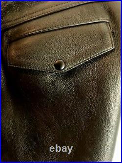 Mr S Leather Uniform Breeches