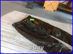 New Hein Gericke Harley Davidson Motorcycles Leather Pants Mens 36x 32 Black