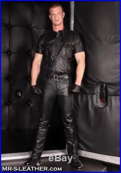 Mine fetish men leather boots variant does
