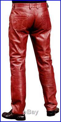 Wholesale Mens Faux Leather Pants