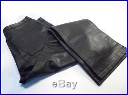 Polo Ralph Lauren Black Genuine Leather Men