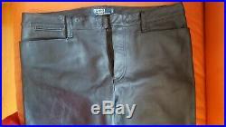 Ralph Lauren mens leather biker pants size 36/34 barely used