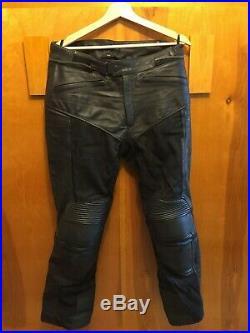 Rev'it! Gear Men's Leather & Mesh Motorcycle Pants