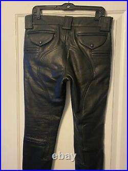 Rubio Leather Breeches size 30 and 30 length BLUF Chips Style