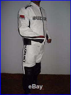 Suzuki Gsxr Leather Suit Motorbike/motorcycle Leather Suit Men Biker Jacket Pant