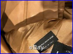ULTRA RARE GUCCI Leather Suit Jacket & Pants 50 euro 40 us Med awesome
