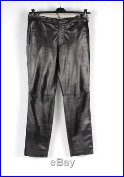 Vintage Helmut Lang Men Soft Leather Pants W31-33