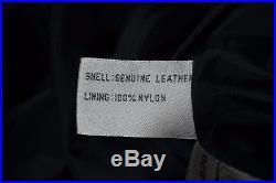 Z Cavaricci Vintage 80s White Label Pleated High Waist Leather Pants Mens 32 30